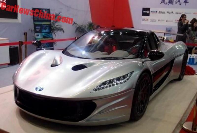 «Титан» — новый электрический автомобиль из Китая