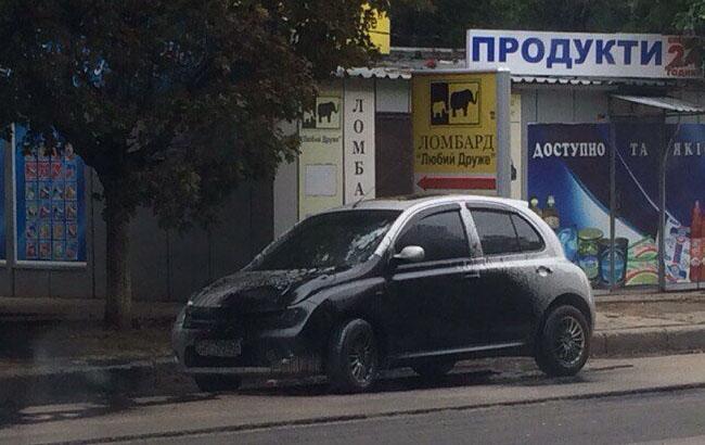 На поселке Жуковского пошел битумный душ