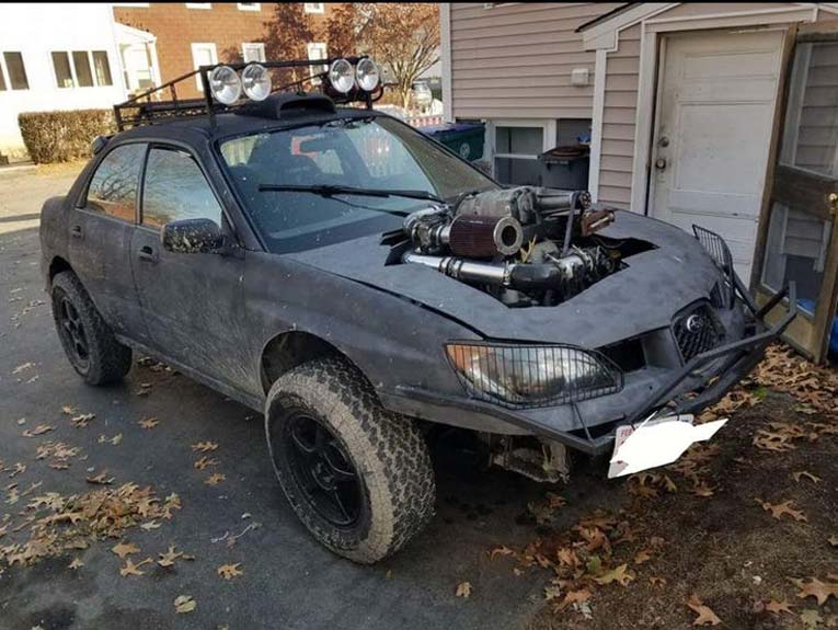 Модификации Subaru на дому