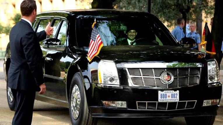 Водитель президента США — обученный специалист по экстремальным методам вождения