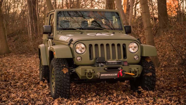 Jeep Wrangler Willys от Geiger Cars