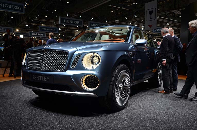 Bentley EXP 9 F 2012 года