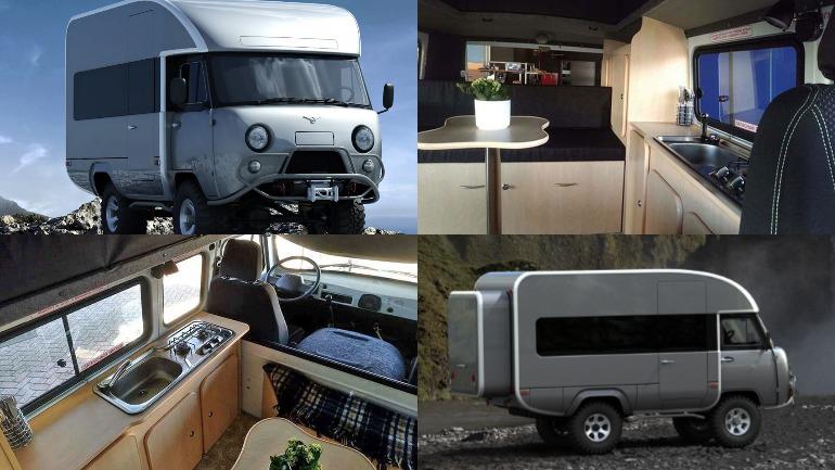 """В сети показали новый УАЗ-452 \""""Буханка\"""""""