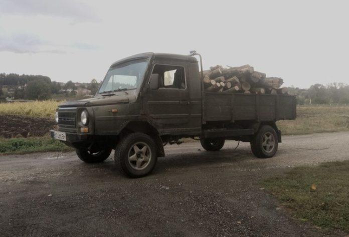 Опубликовано фото уникального автомобиля украинского производства