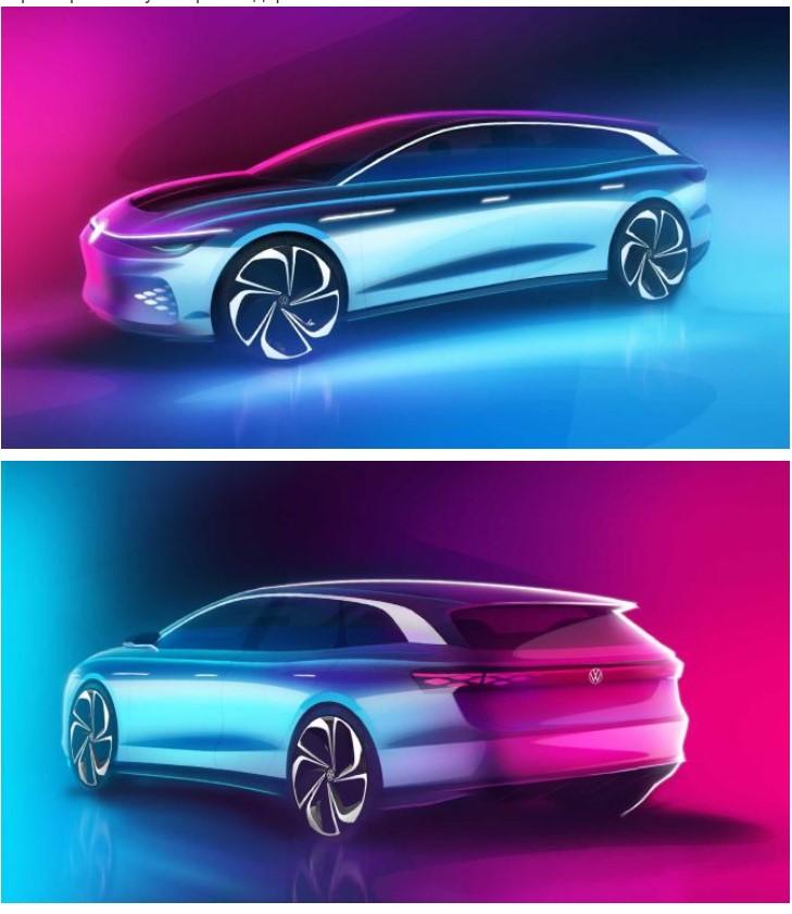 Volkswagen придумал дальнобойный электрический универсал (ФОТО)